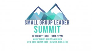 Small Group Leader Summit